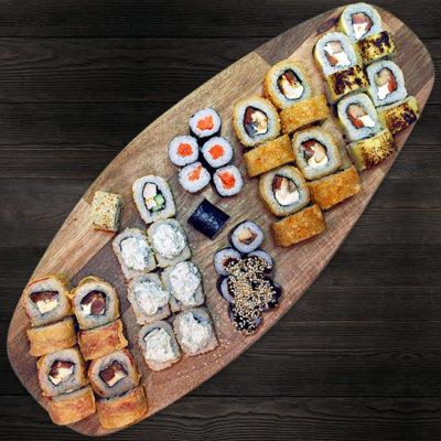 Сет роллов и суши №4