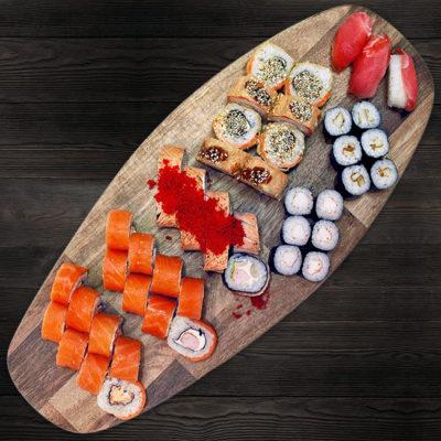 Сет роллов и суши №5